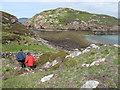 NC0205 : Climbing Down Towards Meall nan Gabhar by Rude Health