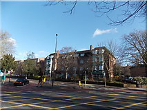 TQ3473 : View of Dulwich Court from Lordship Lane by Robert Lamb