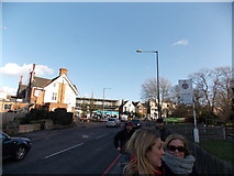 TQ3473 : View of the Grove from Dulwich Common by Robert Lamb