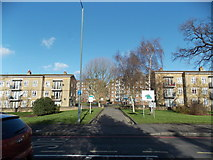 TQ3473 : View of the Lordship Lane Estate from Dulwich Common by Robert Lamb