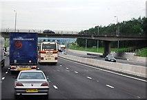 TQ5885 : M25, Ockenden Road Bridge by N Chadwick