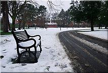 J3271 : Snow, Drumglass Park, Belfast by Rossographer