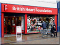 SO9198 : British Heart Foundation shop in Wolverhampton by Roger  Kidd
