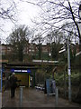 TQ2888 : Priory Gardens entrance, Highgate Underground station by Christopher Hilton