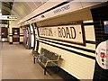 TQ2982 : Warren Street station: old tiling on the Northern Line southbound platform by Christopher Hilton