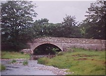 SD9058 : Newfield Bridge over the River Aire by Tim Glover