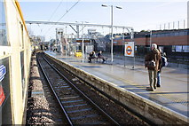 TQ3084 : A charter train coasts through Caledonian Road & Barnsbury station by Roger Templeman