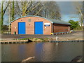 SX9489 : Exeter University boathouse by Chris Allen