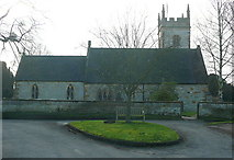 SP2545 : Halford church by Graham Horn