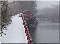 SK5803 : Footbridge across the Old River Soar by Mat Fascione