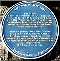 SO3700 : House of Correction blue plaque, Usk by Jaggery