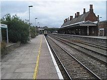 SO5140 : Hereford railway station by Nigel Thompson