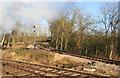 SK5613 : Great Central Railway - Mountsorrel branch by Chris Allen