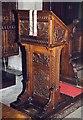 SO3958 : St Mary, Pembridge - Lectern by John Salmon