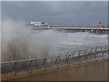 SD3036 : Blackpool: the prom takes a basing by Chris Downer