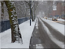 SK5803 : Western Boulevard in the snow by Mat Fascione