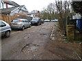 SU9367 : Exchange Road, Sunninghill by David Howard
