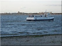 SZ1891 : Hengistbury Head: the ferry leaves for Mudeford by Chris Downer