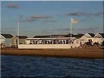SZ1891 : Hengistbury Head: the Beach House café by Chris Downer