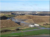 NZ2377 : Desolation to the north of Northumberlandia by Oliver Dixon