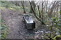 SO7536 : Water trough below Ragged Stone Hill, Eastnor by Bob Embleton