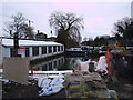 SU2199 : Strengthening Parkend Wharf, Lechlade by Vieve Forward
