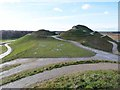 NZ2377 : Shooting from the hip, Northumberlandia by Oliver Dixon