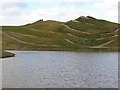 NZ2377 : Knee and hip, Northumberlandia by Oliver Dixon