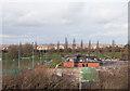 SU4417 : Southampton University Sports Club, Wide Lane by Peter Facey
