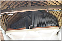 TQ7444 : Organ, St Michael's church, Marden by Julian P Guffogg
