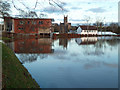SO8454 : Flooding by New Road, Worcester by Chris Allen