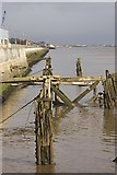 TA0827 : Rotting Humber jetties by Paul Harrop