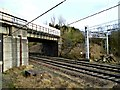 NY3858 : Waverley Route Over-bridge by David Liddle