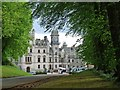 NC8500 : The approach to Dunrobin Castle by Robin Drayton