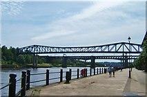 NZ2463 : Bridges over the Tyne by Barbara Carr