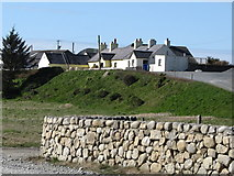 J3214 : Cottages above Leestone Road by Eric Jones