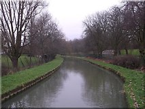 TQ3187 : New River to Green Lane, Finsbury Park  by David Anstiss