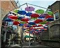 TQ3280 : A splash of colour in Borough by Steve  Fareham