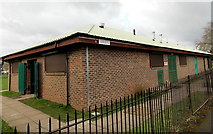 SO6302 : Sports pavilion and public toilets, Bathurst Park, Lydney by Jaggery
