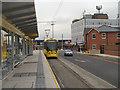 SJ9098 : Droylsden Metrolink Station by David Dixon
