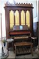 SK7234 : Organ, St Andrew's church, Langar by J.Hannan-Briggs