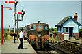 T0914 : Limerick train at Rosslare Strand (1990) by Albert Bridge