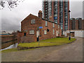 SJ8598 : Lock Keeper's Cottage, Ashton Canal by David Dixon