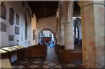 TQ9220 : North Arcade, St Mary's church, Rye by Julian P Guffogg