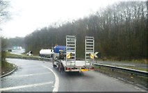 SJ8441 : Slip road onto the M6 at Junction 15 by Anthony Parkes