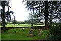 SJ4918 : Burial Ground, St John the Baptist Church, Ellesmere Road, Albrighton, near Shrewsbury, Shropshire by Terry Robinson