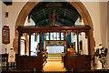 SK5934 : Screen and chancel, Church of Holy Rood, Edwalton by J.Hannan-Briggs