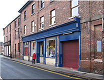 SE3320 : Wakefield - wool shop on Charlotte Street by Dave Bevis