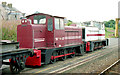 "D4102 : Withdrawn ""DH"" locomotives, Larne Harbour (1) by Albert Bridge"
