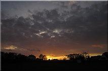 SX9065 : Sunset, Torre by Derek Harper